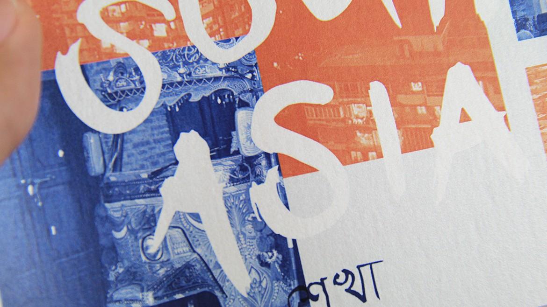 Postcard Penn South Asia silver type