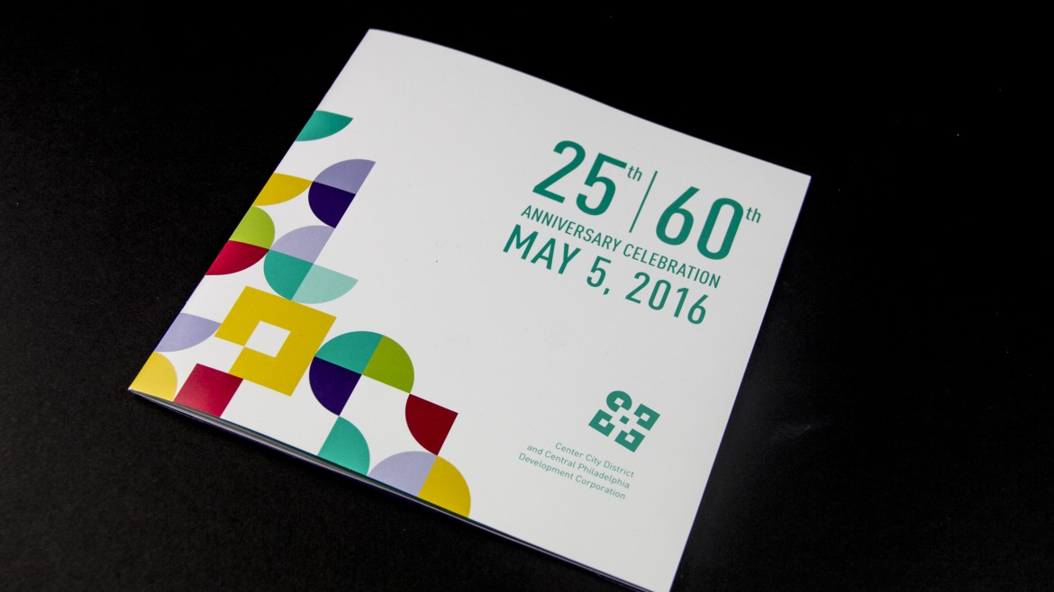 Center City District booklet printing