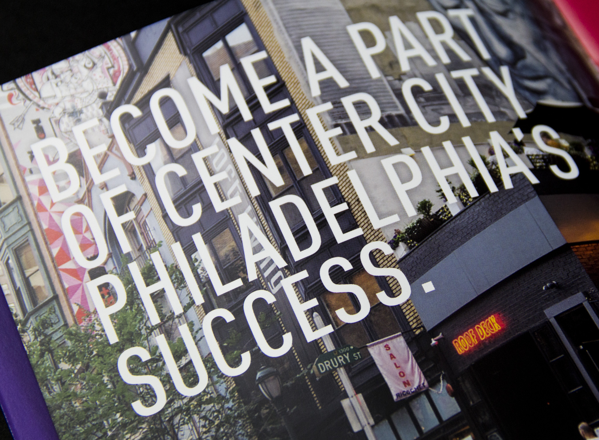 Center City District booklet quote