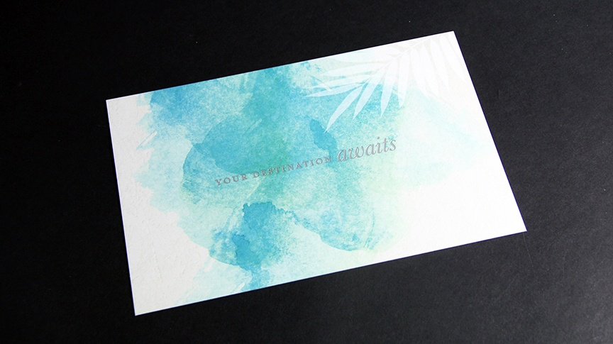 Foil stamp postcard Penn Mutual
