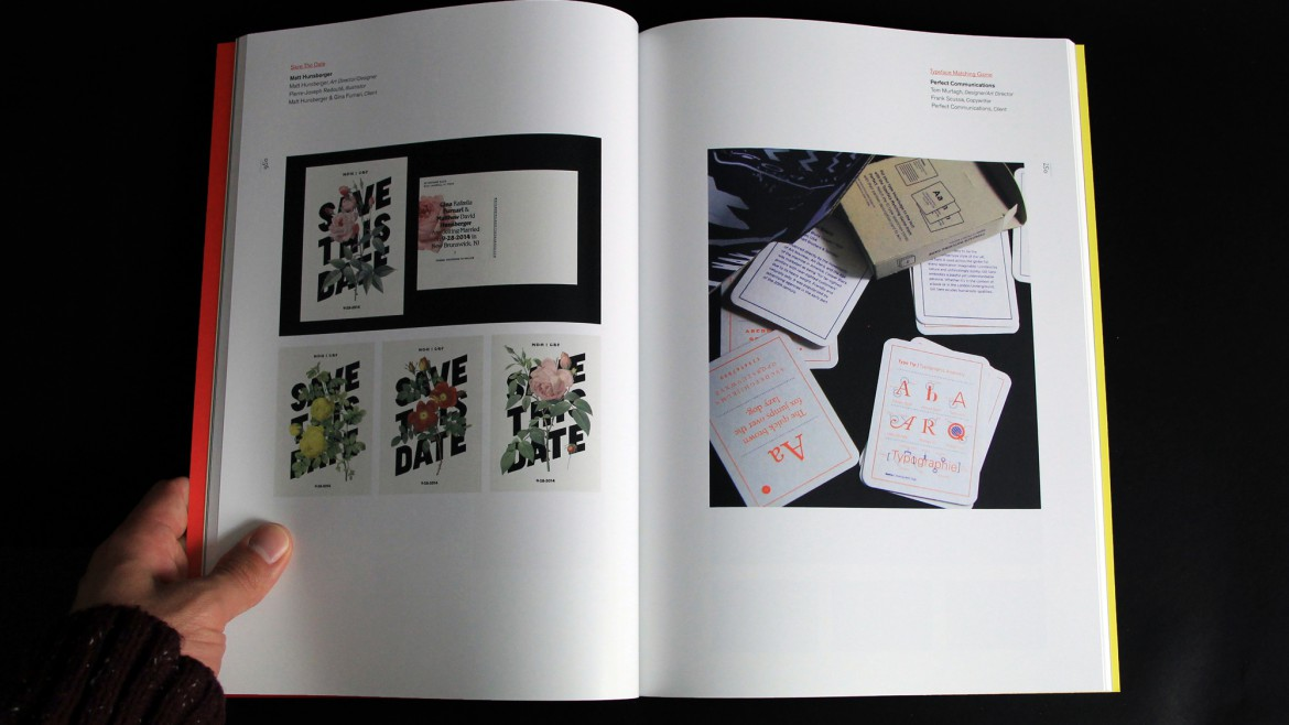AIGA Philadelphia catalog open