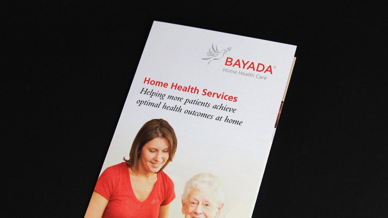 Bayada marketing materials brochure