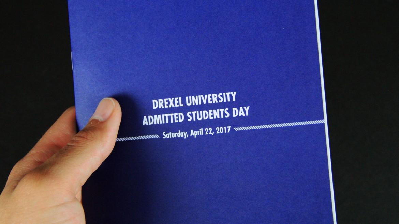 admissions brochure Drexel
