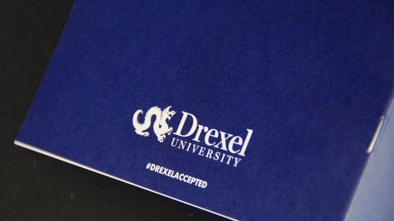 admissions brochure Drexel logo