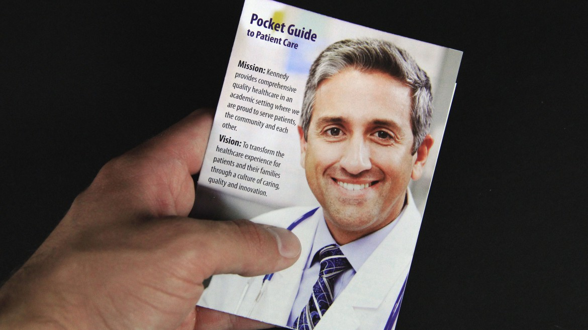 hospital marketing materials pocket guide