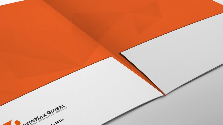 Performax folder inside closeup