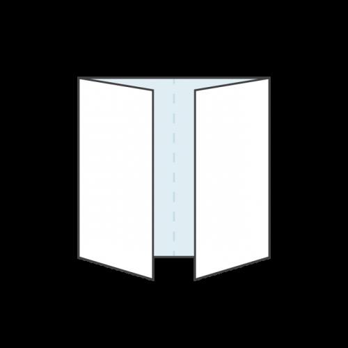 gate fold print templates